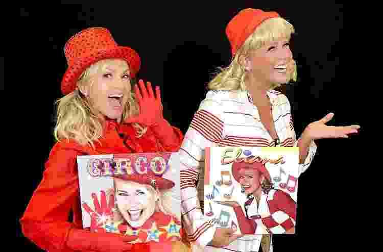 Xuxa e Eliana 'trocam de papéis' em brincadeira no programa de Eliana - Blad Meneguel/Divulgação - Blad Meneguel/Divulgação