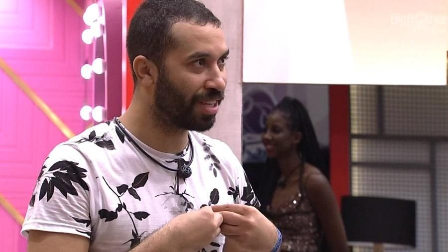 BBB 21: Gilberto fala sobre possível eliminação do jogo - Reprodução/Globoplay