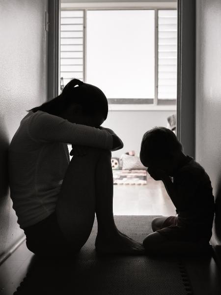 Mulheres com filhos são a maioria entre as vítimas de violência doméstica - Getty Images/iStockphoto