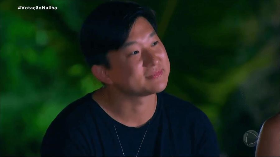 Pyong comentou escolha de Nanah - Reprodução/RecordTV