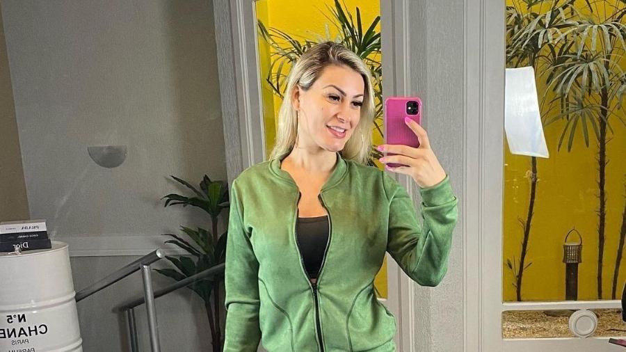 Andressa Urach está grávida do segundo filho - Reprodução/Instagram