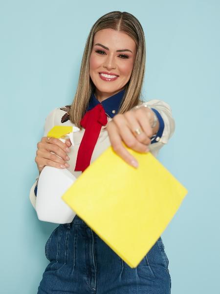 Mila Garro, de 34 anos, fundadora da Fiv5 Star Cleaning, nos EUA - Márcio Amaral/Divulgação