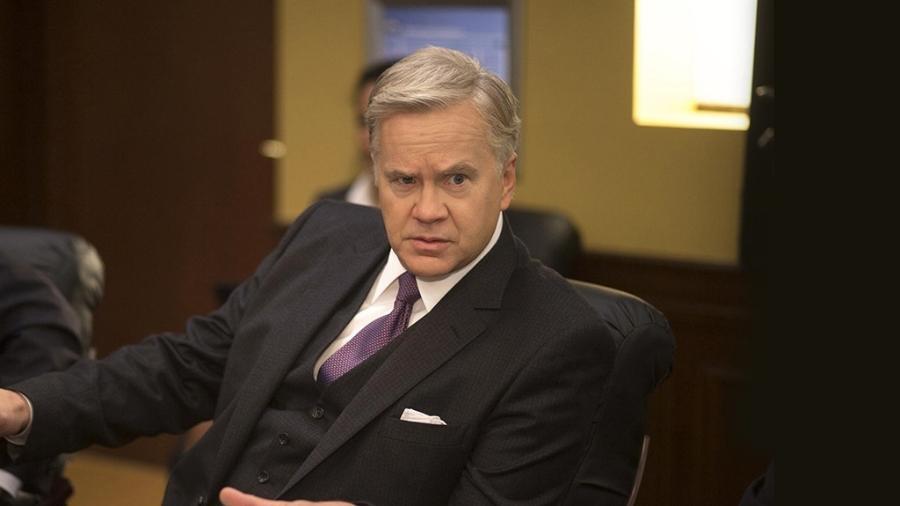 "Tim Robbins interpreta Walter Larson na série ""The Brink"" - Divulgação/HBO"