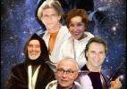 """Numa galáxia muito, muito distante, este seria o elenco brasileiro de """"Star Wars"""" - Montagem UOL"""