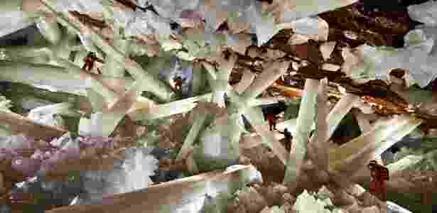 15 paraísos naturais - Caverna dos Cristais, no México  - Reprodução/www.naica.com.mx - Reprodução/www.naica.com.mx