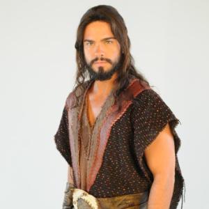 "Ator Sidney Sampaio é Josué na bíblica ""A Terra Prometida"" - Munir Chatack/TV Record"