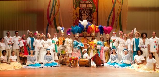 Grupo Aruanda leva o folclore nacional para o palco - Guilherme Bergamini