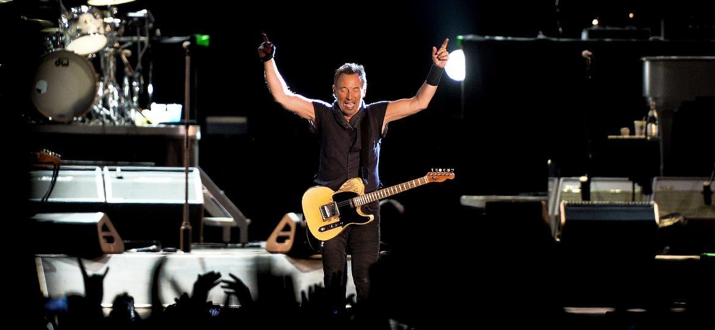 Bruce Springsteen se apresenta com a The E Street Band no primeiro dia de Rock in Rio Lisboa, em Portugal - Patricia de Melo Moreira/AFP