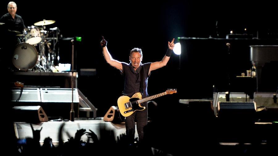 O cantor americano Bruce Springsteen - Patricia de Melo Moreira/AFP