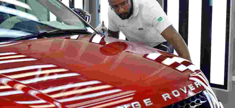 Range Rover Evoque feito em Itatiaia (RJ) vai receber família mais avançada de motores - Rogerio Lorenzoni/Divulgação