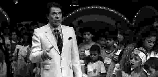 """Silvio Santos no """"Domingo no Parque"""", em 1988 - Paulo Cerciari/Folha Imagem - Paulo Cerciari/Folha Imagem"""