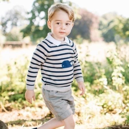 Príncipe George - Reprodução/Twitter/kensingtonroyal