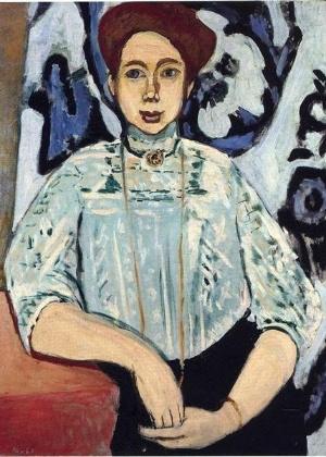 """""""Retrato de Greta Moll"""", de Henri Matisse - Reprodução"""