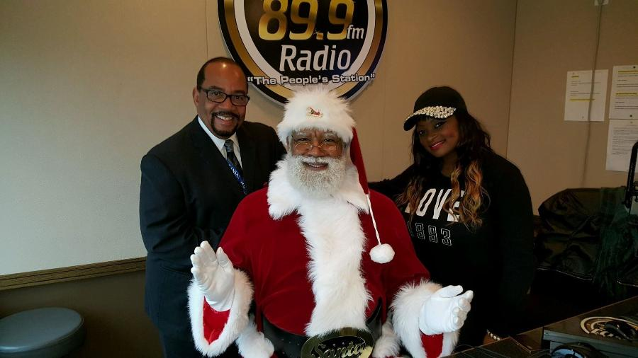 Larry Jefferson foi o primeiro Papai Noel negro do maior shopping dos Estados Unidos - Reprodução/facebook.com/Professor-Bellows-The-Santa-Experience-145835852177212/