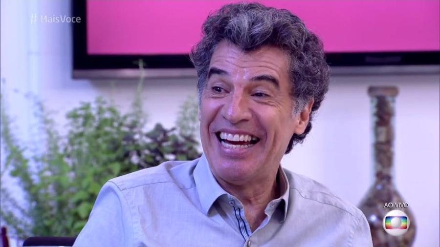"""Paulo Betti participou de conversa bem-humorada no """"Mais Você"""" sobre como apimentar o casamento - Reprodução/TV Globo"""
