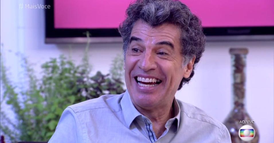 Paulo Betti participou de conversa bem-humorada no