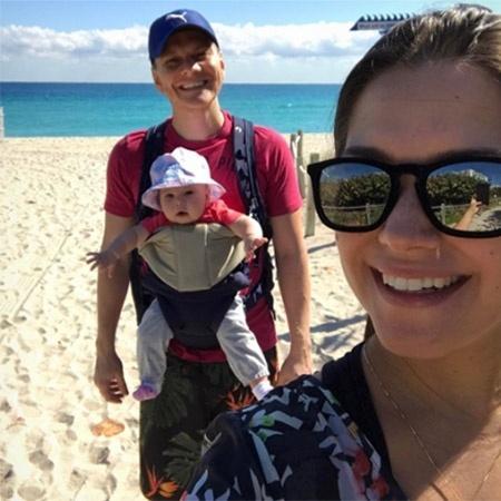 Thais Fersoza e Michel Teló em passeio com a filha, Melinda - Reprodução/Instagram