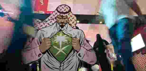 Jidá, segunda maior cidade da Arábia Saudita, ganha primeira edição da feira de Comic Con, maior feira de cultura pop do mundo