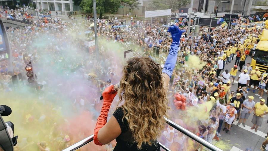 Blocos com mais de 100 mil foliões, como o de Daniela Mercury, ficarão na Consolação ou 23 de Maio - Felipe Gabriel/UOL