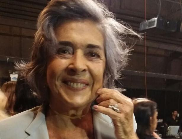 """Betty Faria no evento de lançamento de """"A Força do Querer"""""""