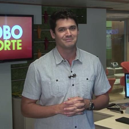Marcelo Courrege, repórter da Globo - Reprodução/TV Globo