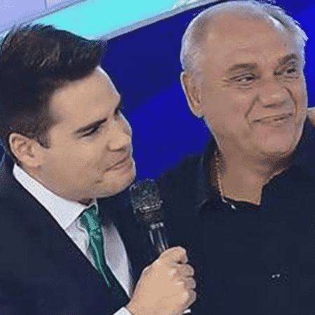 Luiz Bacci e Marcelo Rezende - Reprodução