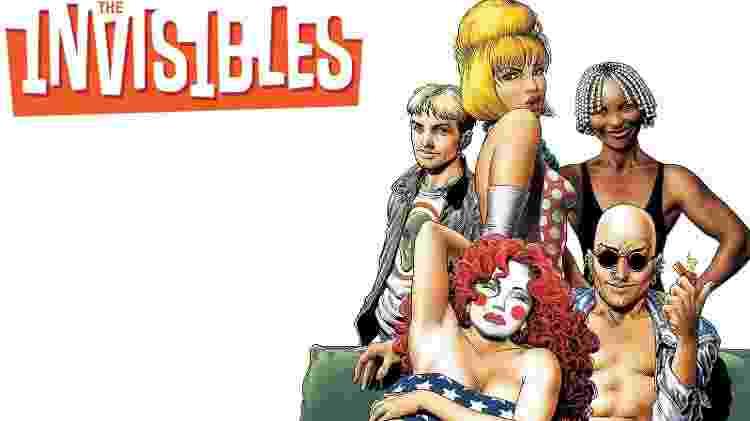 """""""Os Invisíveis"""", história de """"desajustados"""" que combatem forças malignas - Reprodução - Reprodução"""