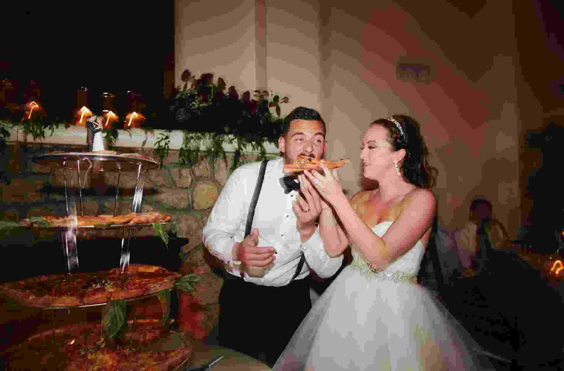 Casamento com pizza - Todd Good Photography