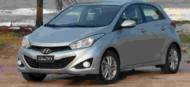 Hyundai HB20 chegou ao Brasil em 2012 e desde 2016 é o segundo carro zero mais vendido do país - Divulgação