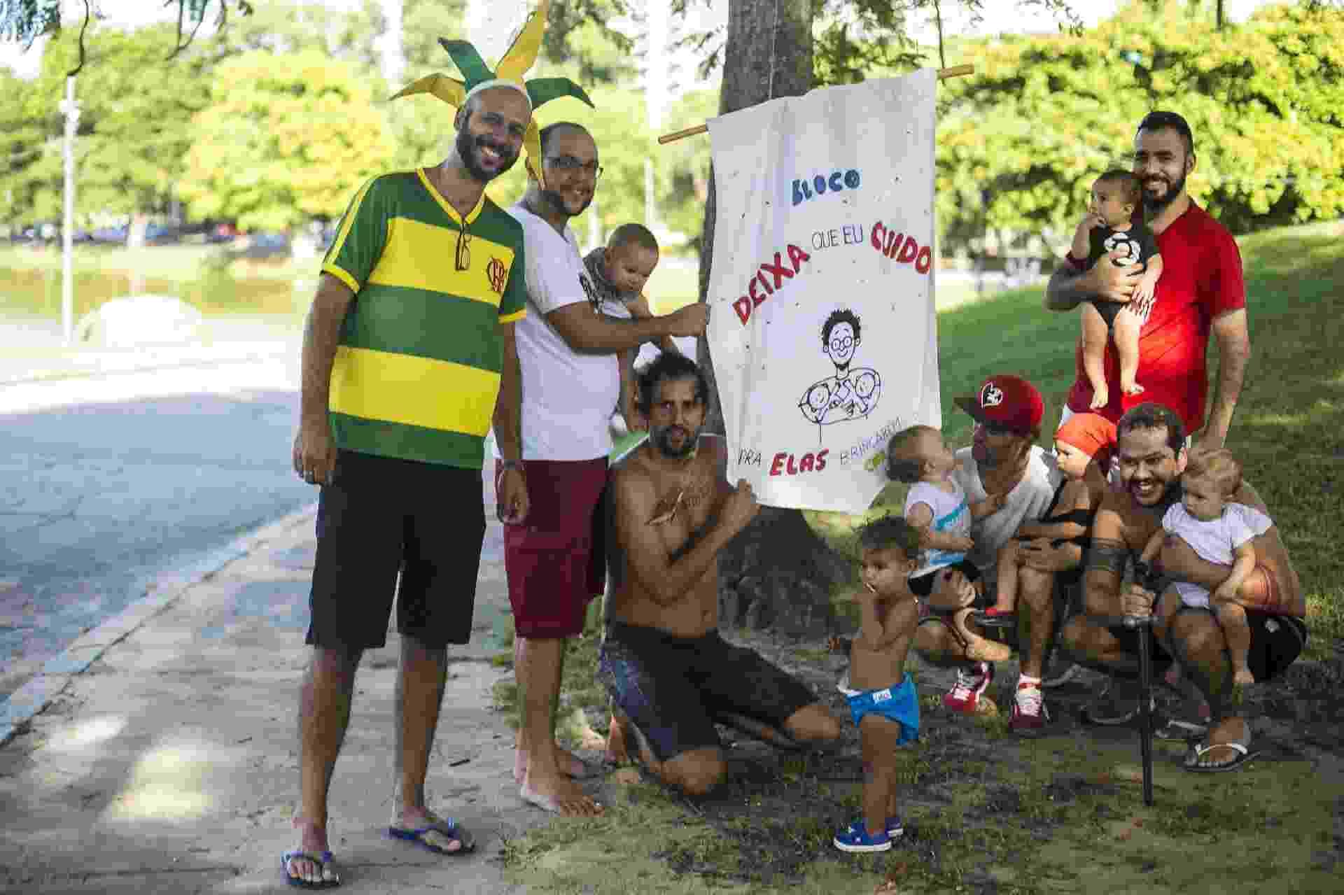 Pais se reúnem no bloco Deixa que eu Cuido, na Quinta da Boa Vista, no Rio de Janeiro - Bruna Prado/UOL