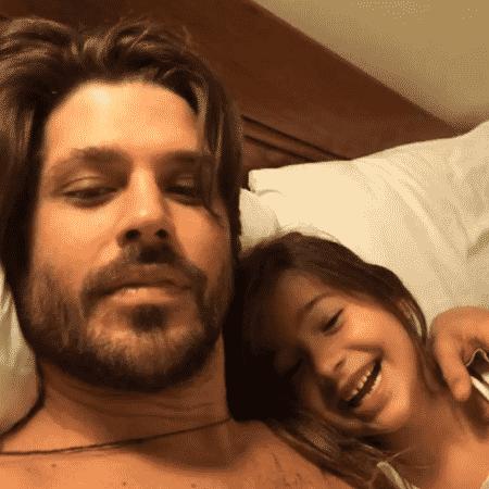 Dado Dolabella e a filha - Reprodução/Instagram