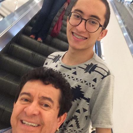 Solimões e o filho, Gabriel - Reprodução/Instagram