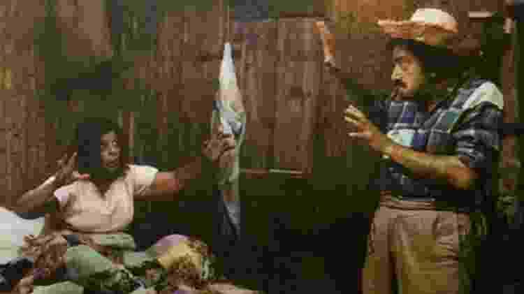 """Mazzaropi interpreta Jeca Tatu, personagem de Monteiro Lobato, no filme """"Jeca Contra o Capeta"""", de 1976 - Funarte/BBC - Funarte/BBC"""