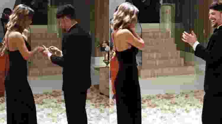 Cantor traído por atriz global está noivo de ex-participante de reality show - Reprodução/Twitter - Reprodução/Twitter