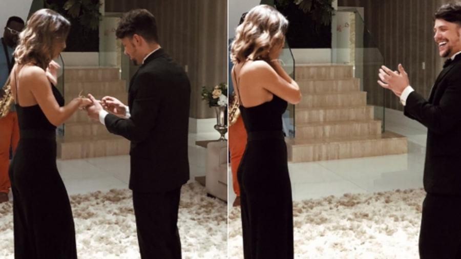 Cantor traído por atriz global está noivo de ex-participante de reality show - Reprodução/Twitter