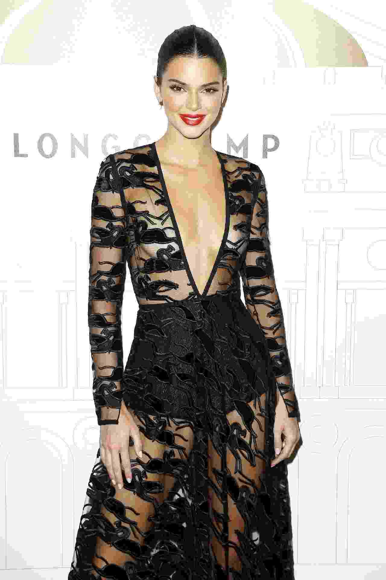 20 vezes em que Kendall Jenner provou ser a rainha da transparência - Getty Images