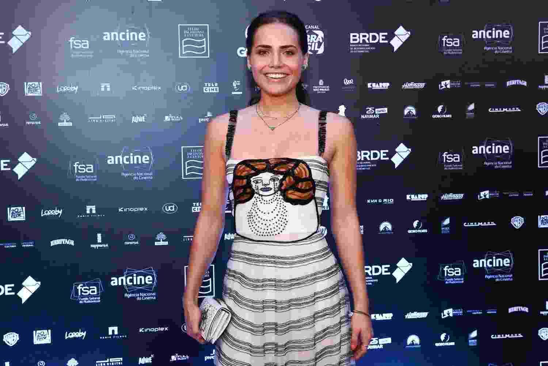 "Leticia Colin prestigia ""Grande Prêmio de Cinema Brasileiro 2018"" na Cidade das Artes, na Barra da Tijuca, zona oeste do Rio, na terça-feira (18) - Roberto Filho/Brazil News"