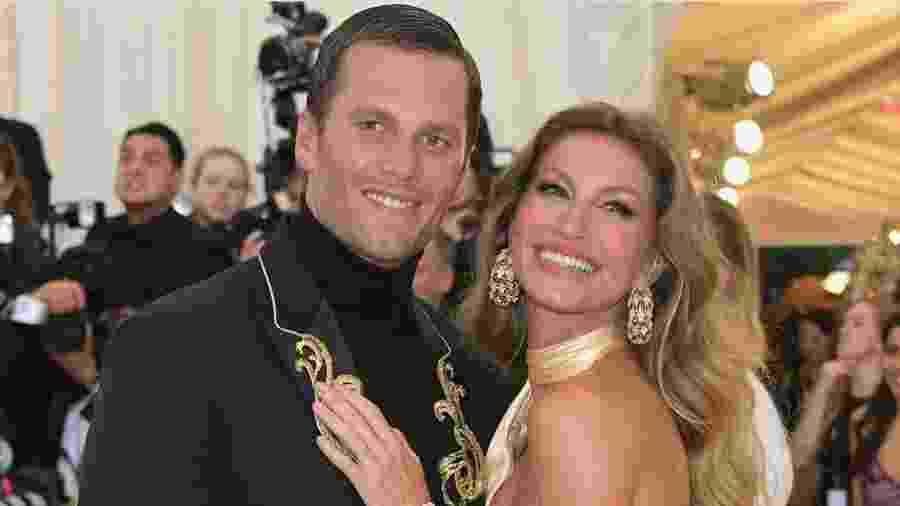 Gisele e o marido, Tom Brady, são pais de Vivian e Benjamin - Reprodução/Instagram/@gisele