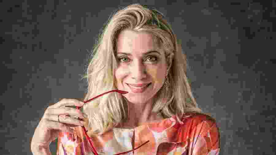 """Letícia torce para que Marilda cruze com Sampaio, o vilão de Marcelo Novaes, em """"O Sétimo Guardião"""": """"Vai ser bacana"""" - João Cotta/Globo"""