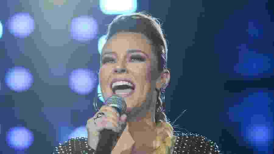 """Paolla Oliveira é a apresentadora do """"Festeja"""", na programação especial da Globo - Nélio Rodrigues/TV Globo"""