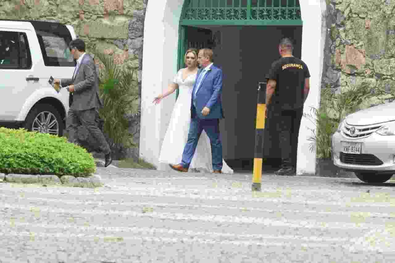 Jayme Monjardim e Tânia Mara oficializam união no Rio de Janeiro - Daniel Pinheiro/AgNews