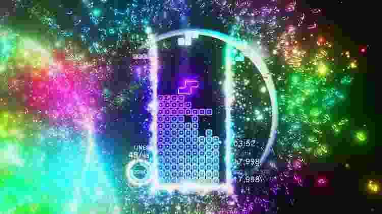 """""""Tetris Effect"""" foi lançado em 2018 para o PlayStation 4 - Reprodução"""