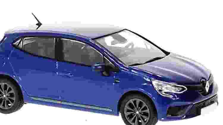 Confira como é a miniatura do Renault Clio 5 RS - Reprodução