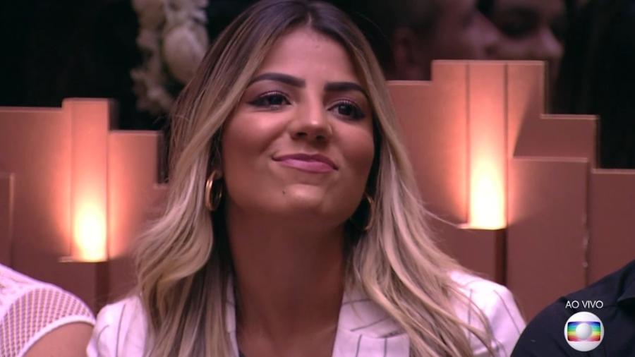 A goiana comentou que gosta da cantora gaúcha - Reprodução/TvGlobo