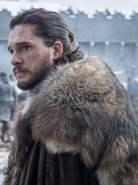 """Kit Harington é Jon Snow em """"Game of Thrones"""", um do protagonistas - Divulgação"""