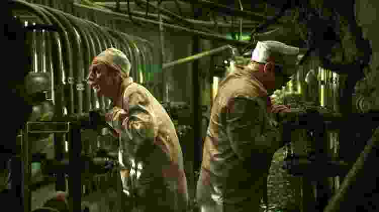 Cena da minissérie Chernobyl - Reprodução