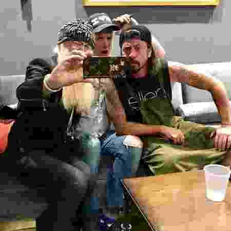 Billy Gibbons, Josh Homme e Dave Grohl - Reprodução