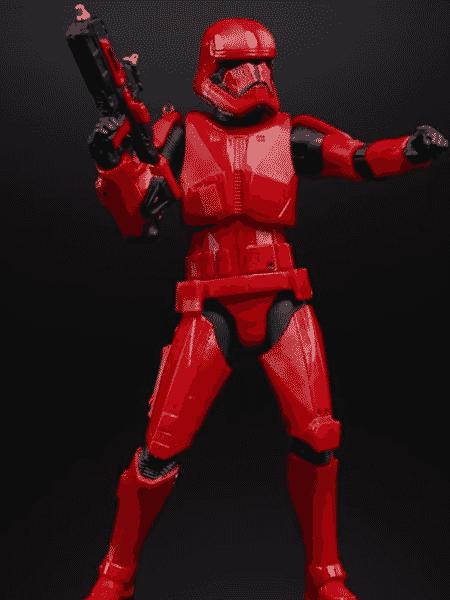 O novo Sith Trooper - Reprodução/YouTube