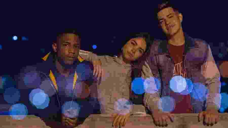 Christian Malheiros, Bruna Mascarenhas e Jottapê, o trio protagonista de Sintonia, da Netflix - Rafael Morse/Netflix