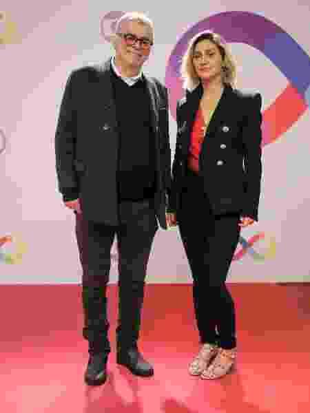 Walcyr Carrasco e Amora Mautner, autor e diretora de A Dona do Pedaço - Victor Pollak/Globo e Paulo Belote/Globo